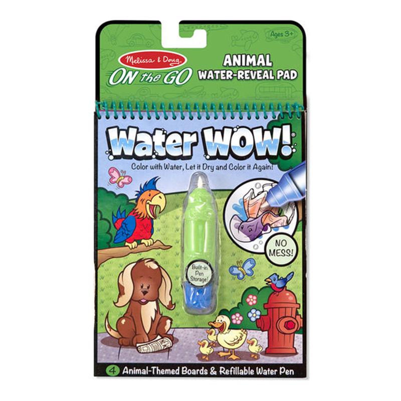 Melissa & Doug On The Go - Water WOW! - Animals