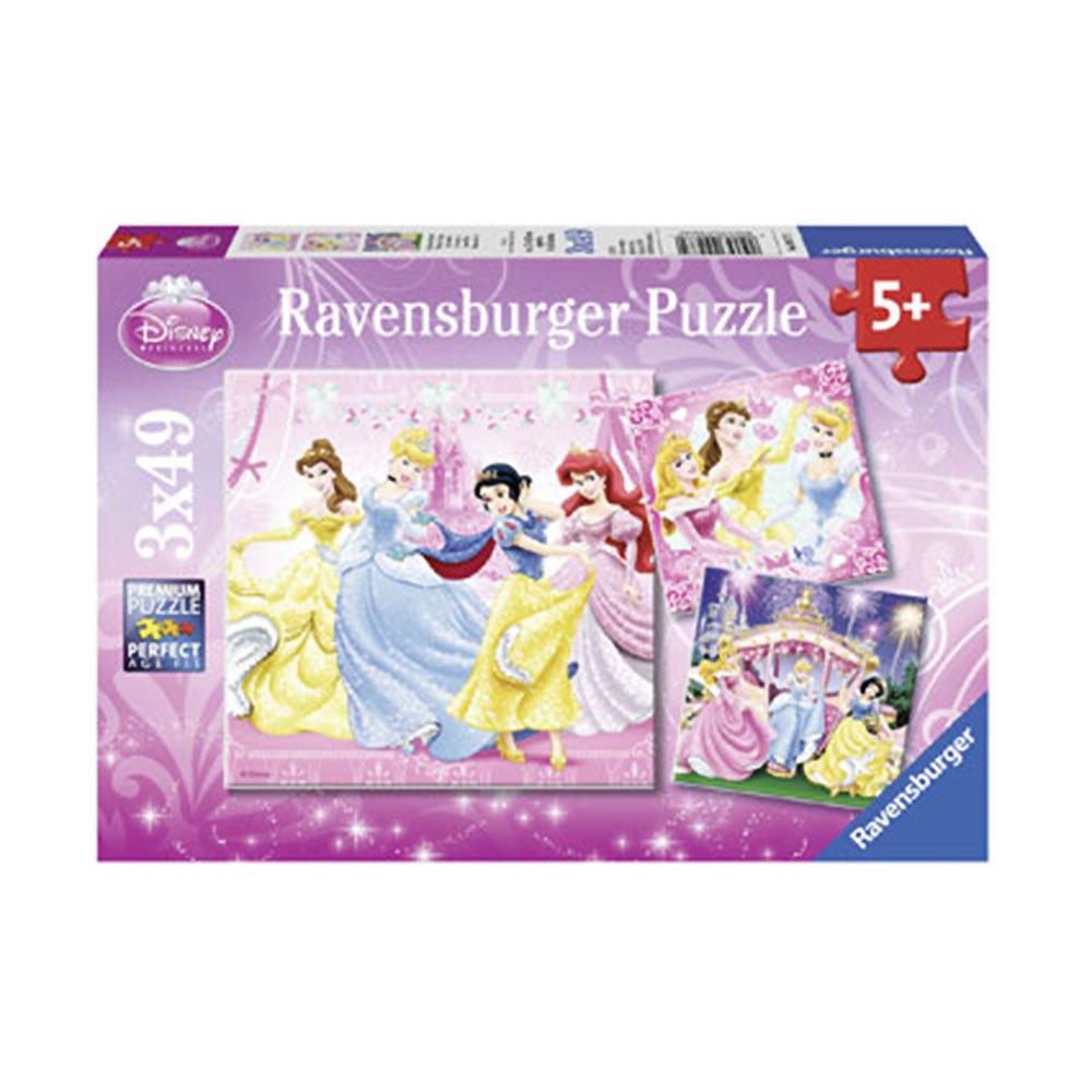 Ravensburger Disney Snow White Puzzle 3x49pc