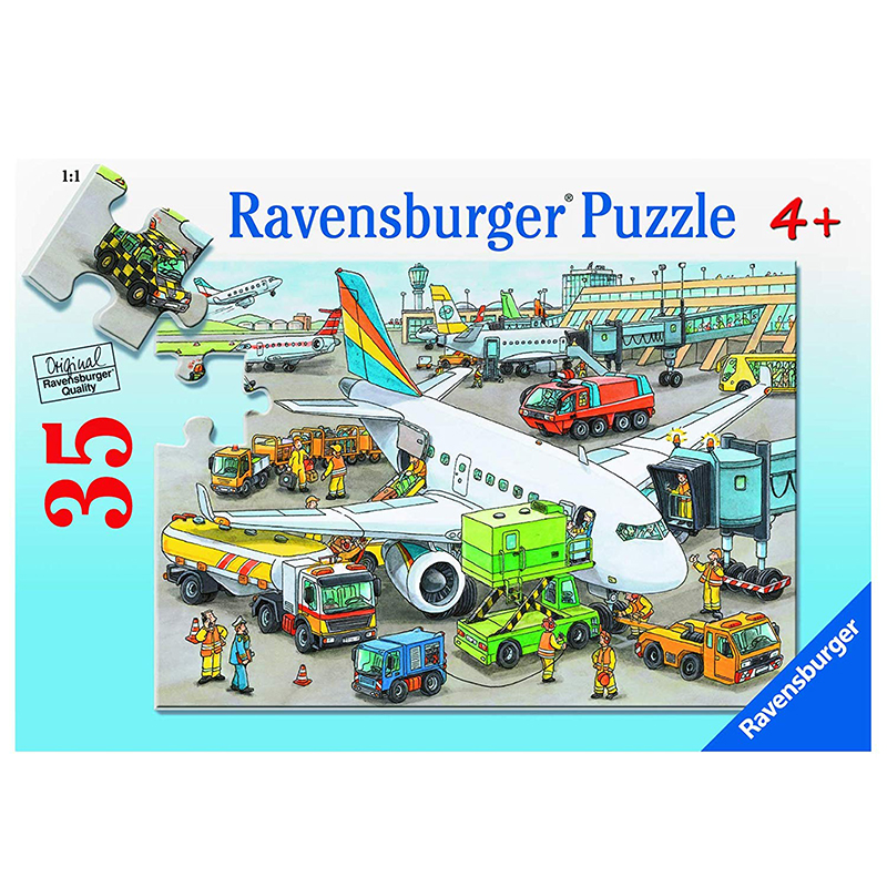 Ravensburger Busy Airport Puzzle 35pc