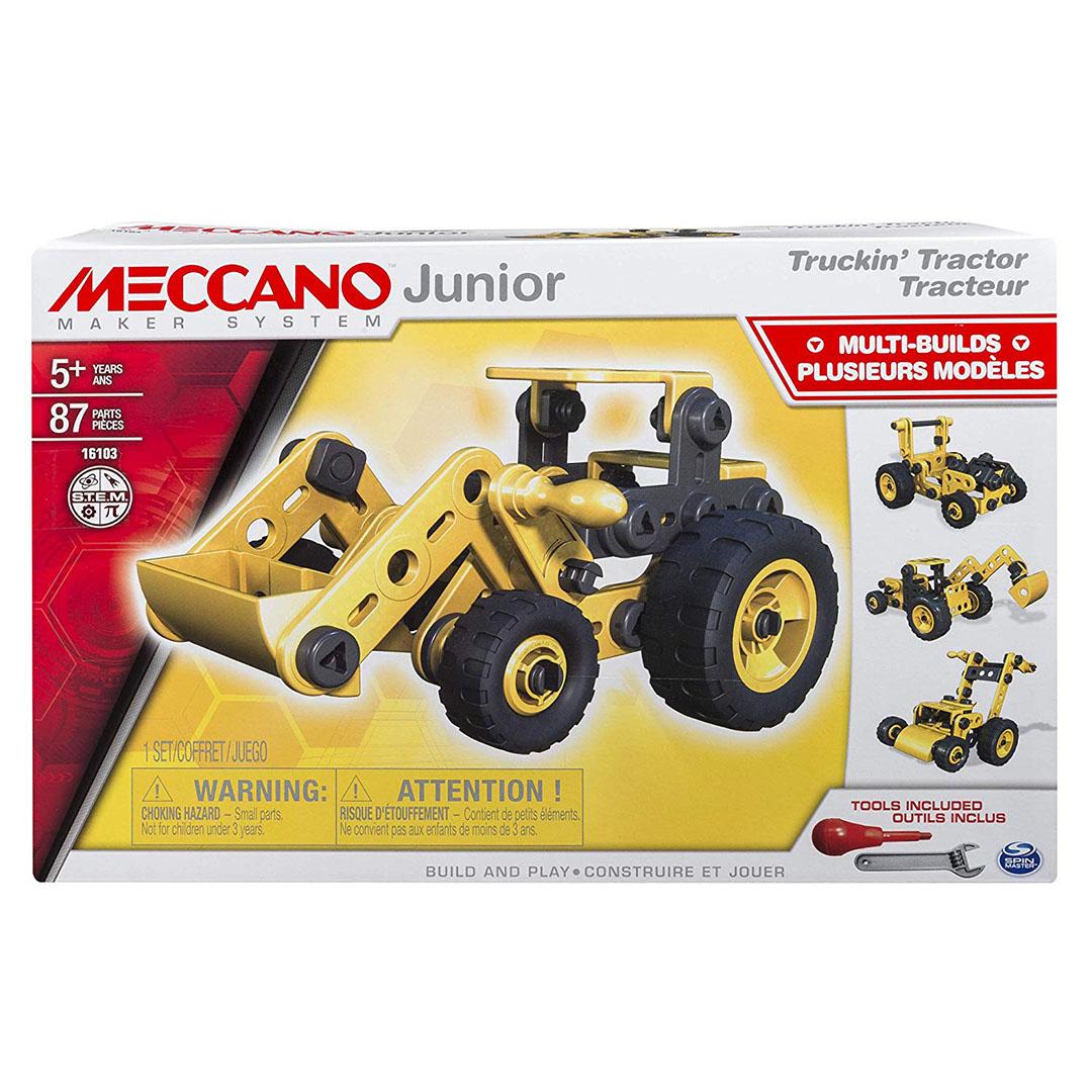Meccano Junior Tractor - 4 model