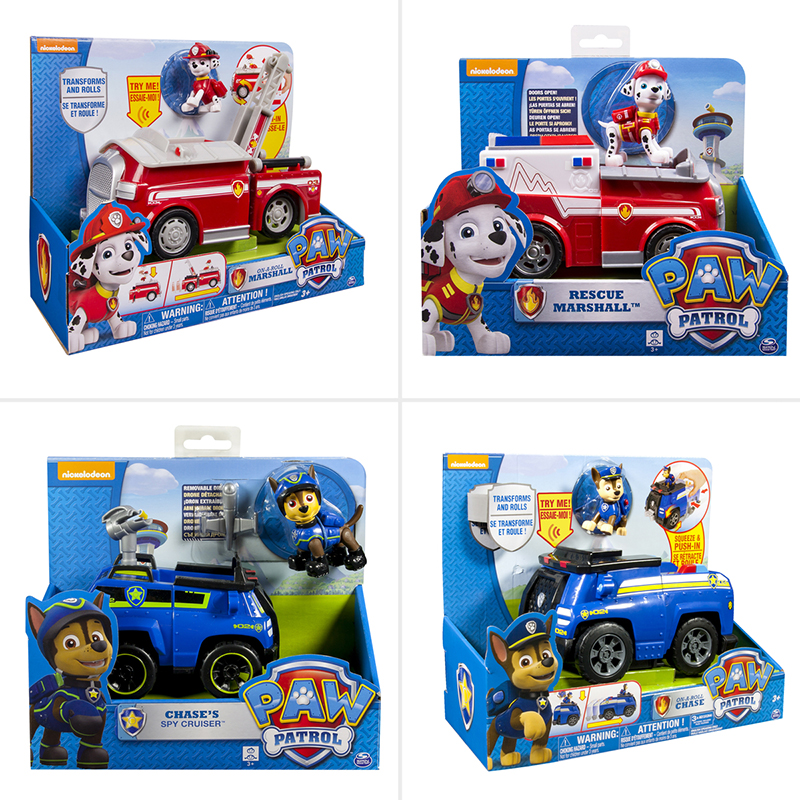Image result for Paw Patrol Deluxe Feature Vehicle Assorted