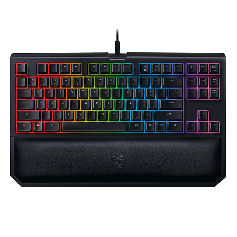 Razer BlackWidow Tournament Edition Chroma V2 Mechanical Gaming Keyboard - Green Switch