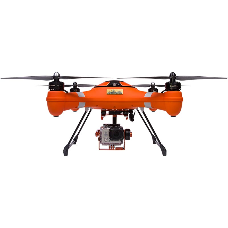 SwellPro Splashdrone Auto Plus Version Drone (With 3 axis gimbal 4K water  proof camera, without payload release)