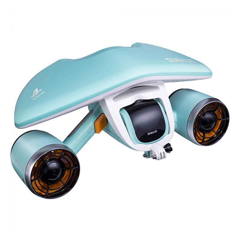 Sublue White Shark Mix Set 3 in 1 Underwater Scooter - Aqua Blue