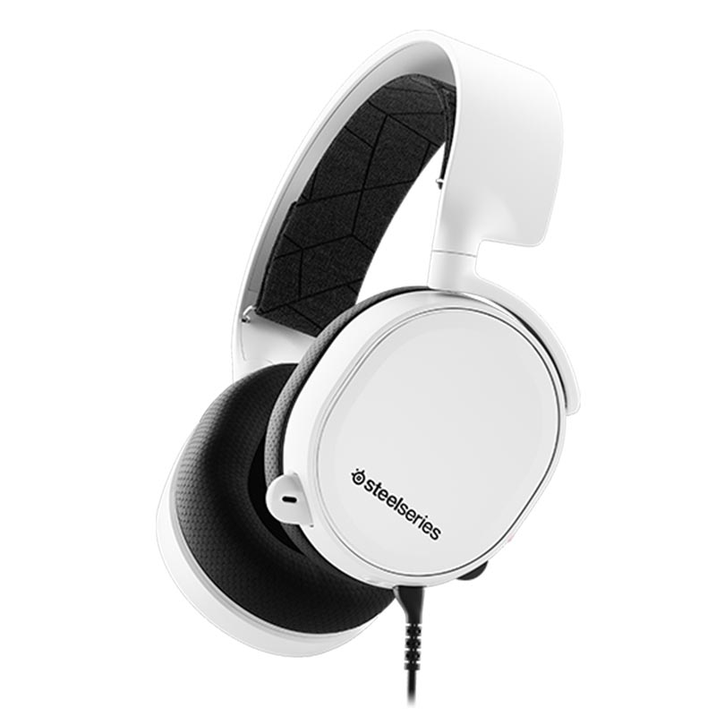 SteelSeries Arctis 3 Wired Gaming Headset - White