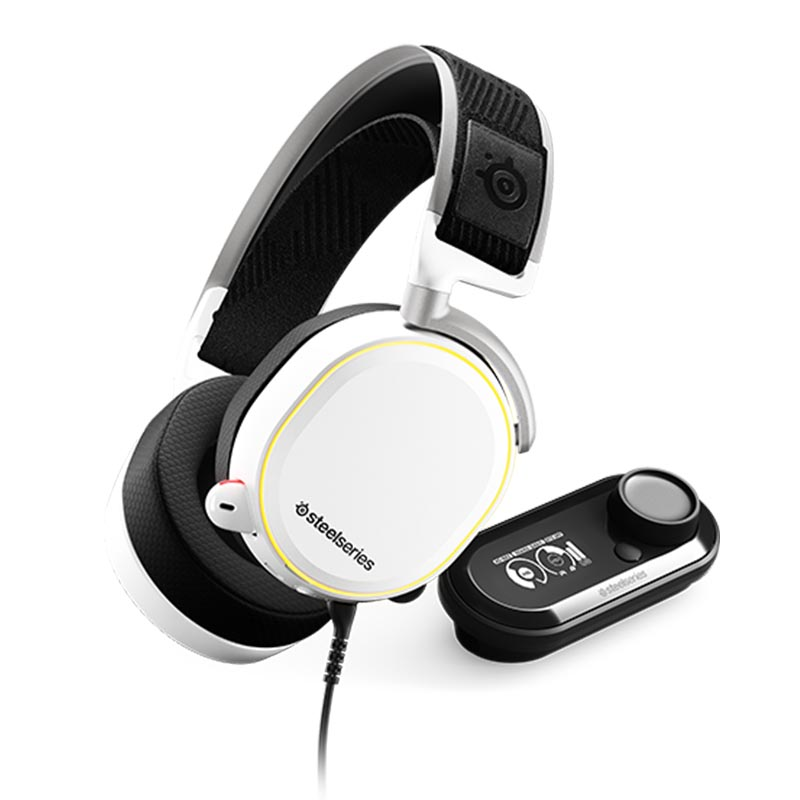 SteelSeries Arctis Pro Gaming Headset with GameDAC - White