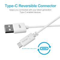 Silicon Power Quick Charge 3.0 USB Micro B to USB-A 3.0 Data Transfer Charger Cable-White,PVC