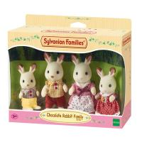 Sylvanian Familes - Chocolate Rabbit Family