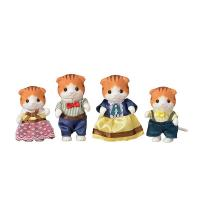 Sylvanian Familes Maple Cat Family