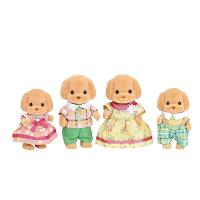 Sylvanian Familes Toy Poodle Family