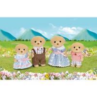 Sylvanian Familes Yellow Labrador Family