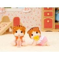 Sylvanian Familes Maple Cat Twins