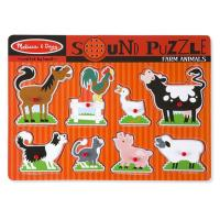 Melissa & Doug Farm Animals Sound Puzzle - 8pc