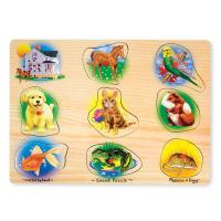 Melissa & Doug Pets Sound Puzzle - 8pc