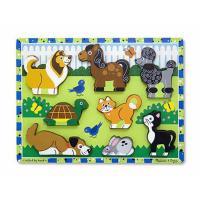 Melissa & Doug Pets Chunky Puzzle 8pce