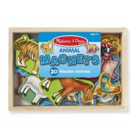 Melissa & Doug Animal Magnets - 20pc