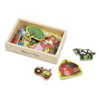 Melissa & Doug Farm Magnets - 20pc