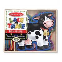 Melissa & Doug Lace & Trace Farm Animals