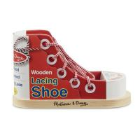 Melissa & Doug Wooden Lacing Sneaker
