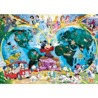 Ravensburger Disney's World Map Puzzle 1000pc
