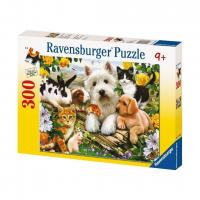 Ravensburger Happy Animal Babies Puzzle 300pc