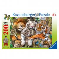Ravensburger Big Cat Nap Puzzle 200pc
