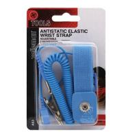 Velleman AS3 Anti-Static Wrist Strap with 1.8m Coiled Cord