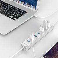 Orico H7013-U3 7 Port USB3.0 Hub - Silver