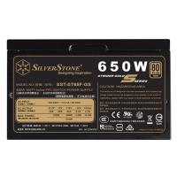 SilverStone 650W Strider Gold S 80+ Gold Power Supply (ST65F-GS)