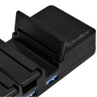SilverStone UC03-PRO 7 Port USB3.1 Charging Station and Hub