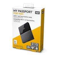 Western Digital WD 2TB My Passport for Mac Portable Hard Drive