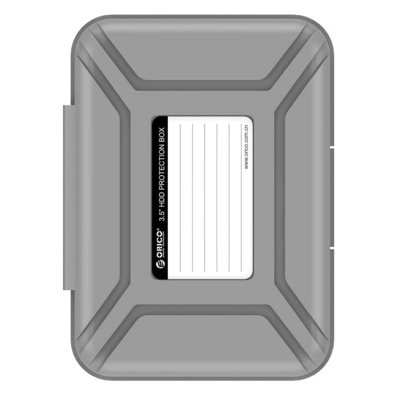 Orico PHX35 3.5 inch Protective Box for Hard Drives - Grey