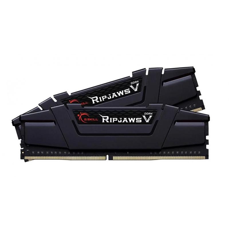 G Skill 32GB (2X16G)F4-3200C16D-32GVK RipJaws V 3200MHz DDR4 RAM - Black