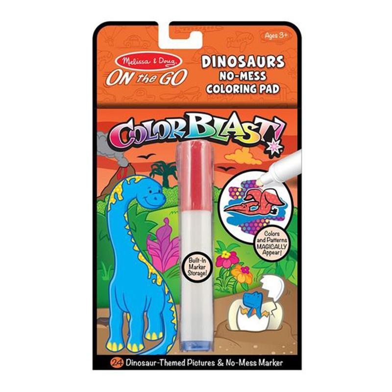 Melissa & Doug On The Go - Color Blast! - Dinosaurs