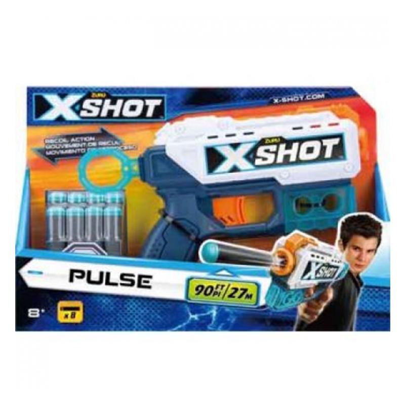 XSHOT Excel Pulse (8 darts)