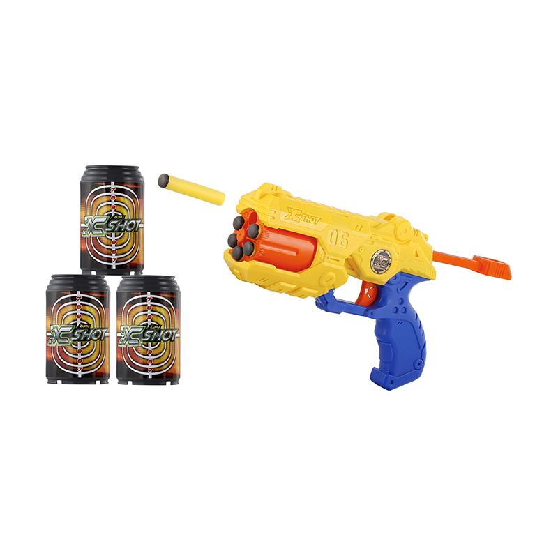 XSHOT Excel Reflex Revolver TK-6 (3 cans/8 darts)