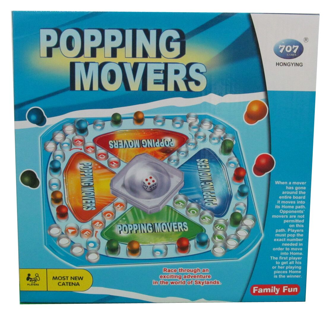 Popping Movers Game