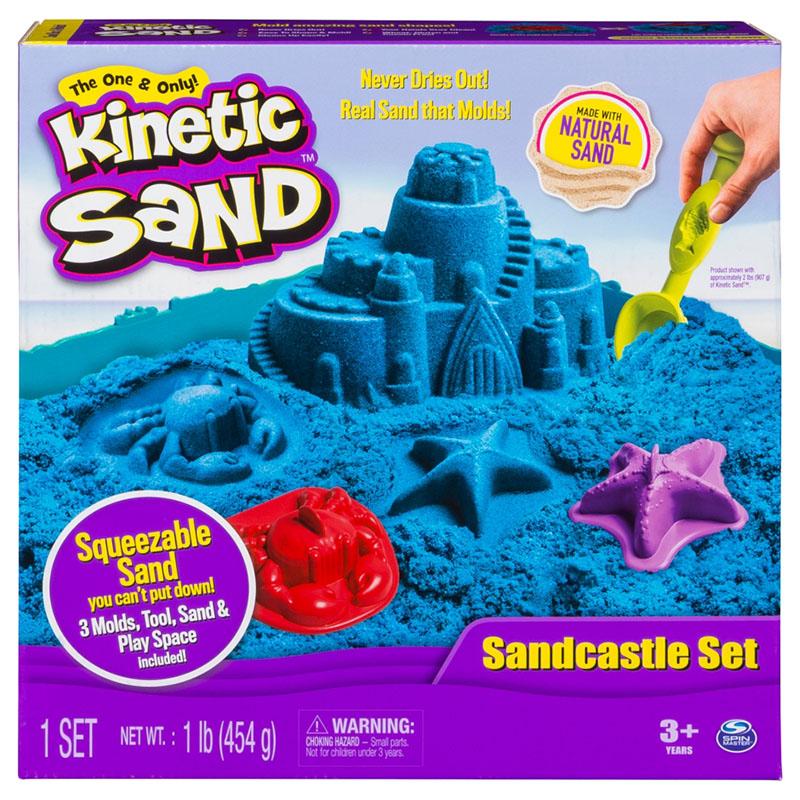 Kinetic Sand Sandcastle Set