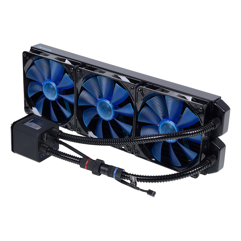 Alphacool Eisbaer 420mm Liquid CPU Cooler - Black