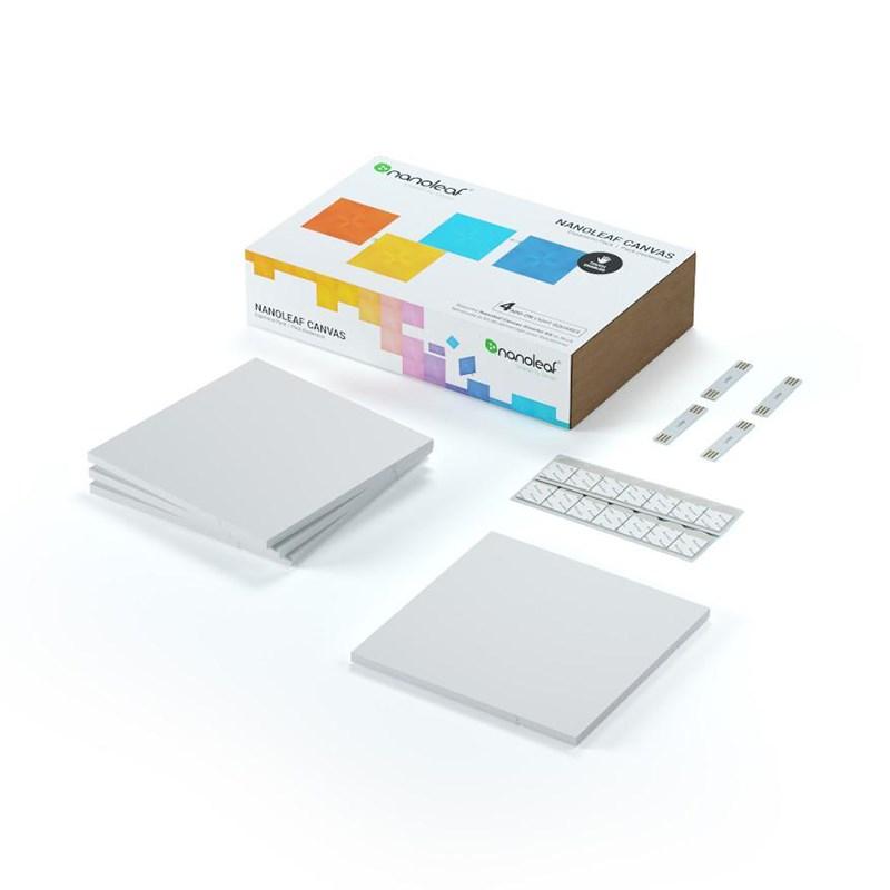 Nanoleaf Light Panels Canvas Expansion Kit 4 Pack
