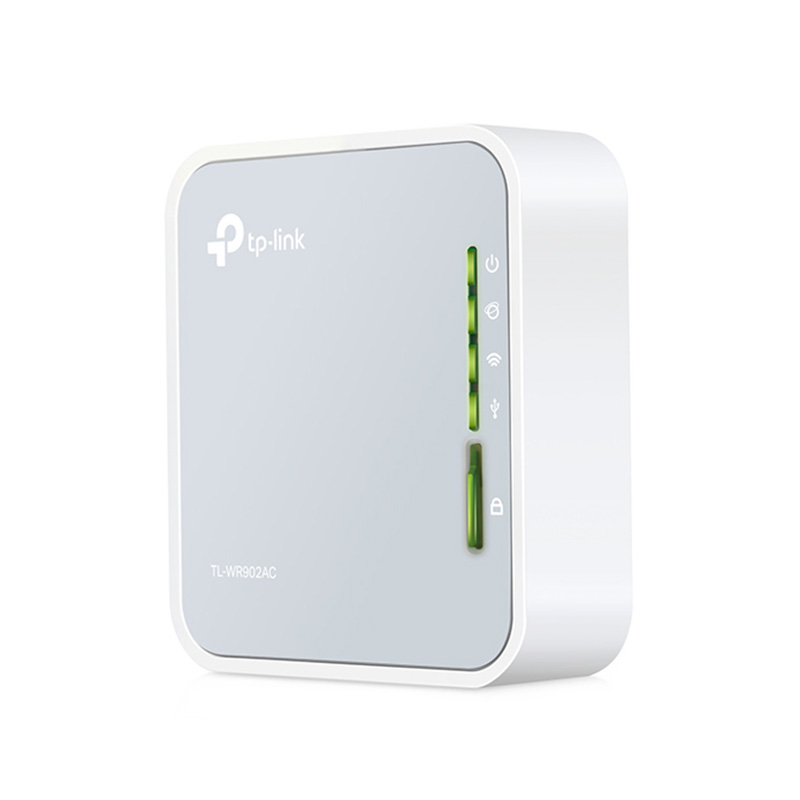 TP-Link AC750 Dual Band Wireless Pocket Router - (TL-WR902AC)