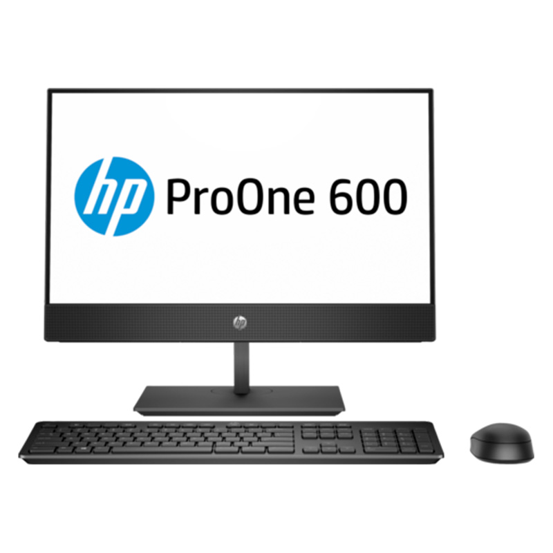 "HP 600 ProOne G4 21.5"" NT i5-8500T 8GB 256GB SSD W10P64 3-3-3 All in One PC"