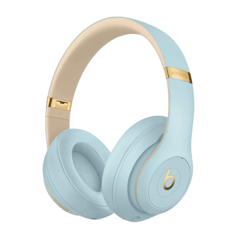 Beats Studio 3 Wireless Over-Ear Headphones - Skyline Collection Crystal Blue