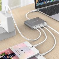 Orico USB Type C and Ethernet Convertor - Grey
