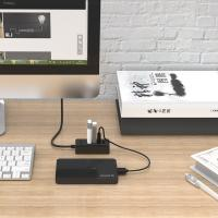 Orico 4 Port USB2 Hub - Black