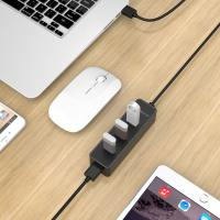 Orico W5PH4 4 Port USB3 Hub - Black