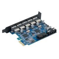 Orico 5 Port USB3 PCI-E Expansion Card