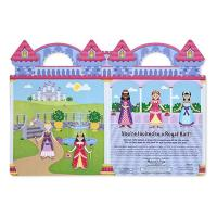 Melissa & Doug Reusable Puffy Sticker Play Set - Princess