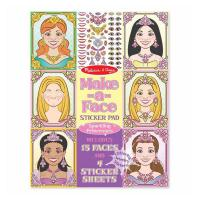 Melissa & Doug Make-a-Face - Sparkling Princesses