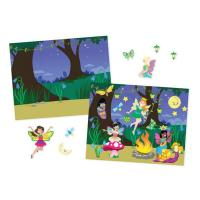 Melissa & Doug Reusable Sticker Pad - Fairies